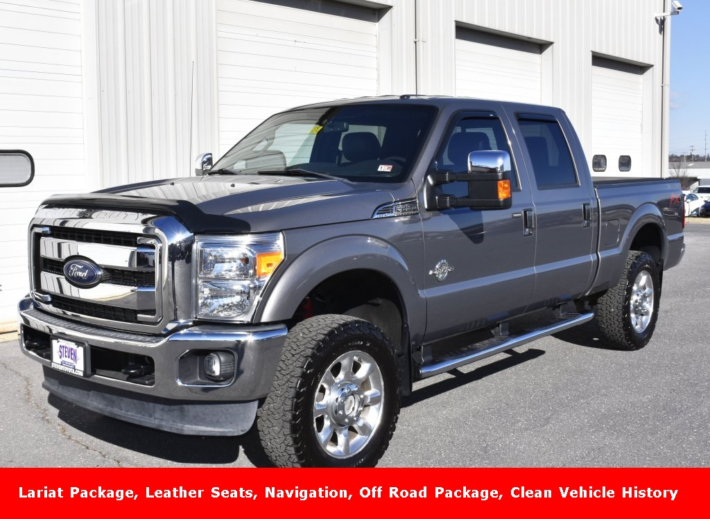 Pre-Owned 2014 Ford F-250SD Lariat