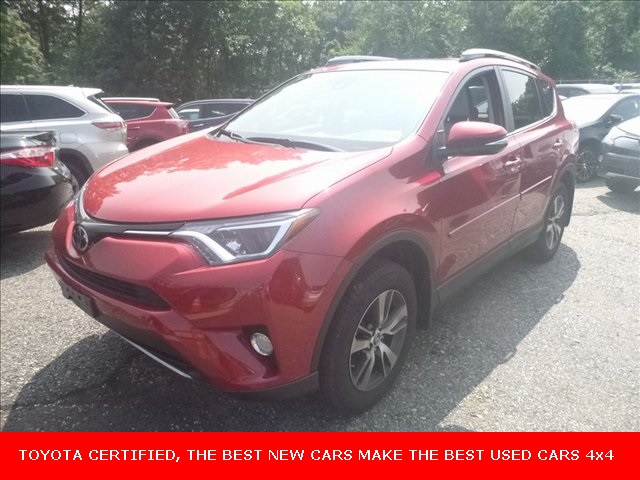 Certified Pre Owned 2017 Toyota Rav4 Xle Awd 4d Sport Utility