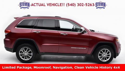 Pre-Owned 2015 Jeep Grand Cherokee Limited 4D Sport Utility 4WD