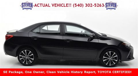 Certified Pre-Owned 2018 Toyota Corolla SE 4D Sedan FWD