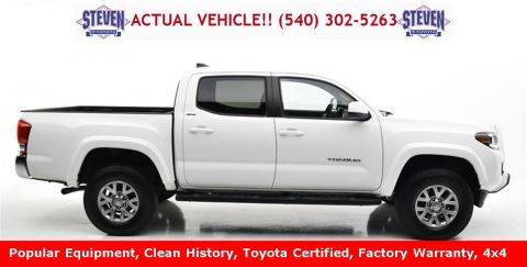 Certified Pre-Owned 2017 Toyota Tacoma SR5 4D Double Cab 4WD