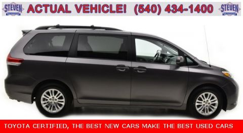 Certified Pre-Owned 2014 Toyota Sienna XLE FWD 4D Passenger Van