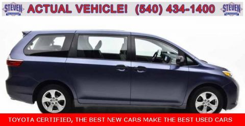 Certified Pre-Owned 2016 Toyota Sienna CE